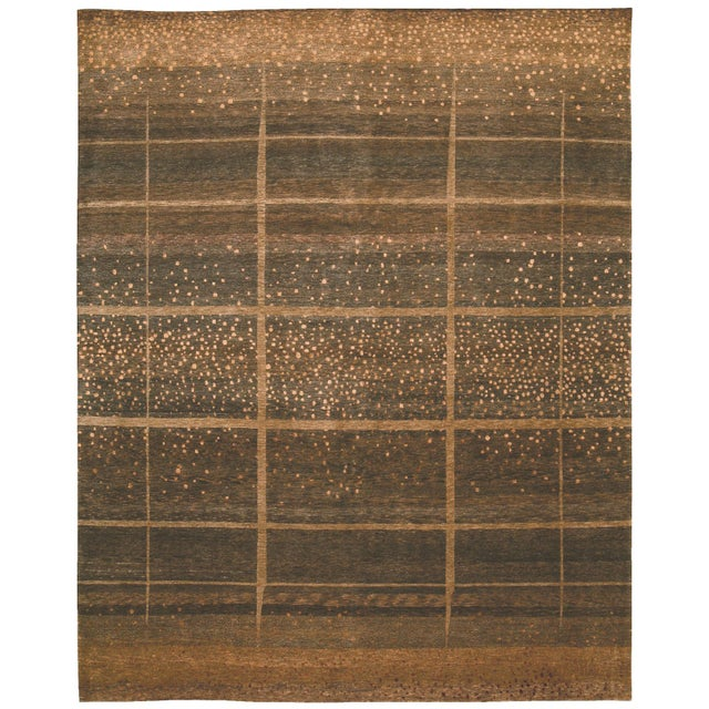 Abstract ModernArt - Customizable Sienna Rug (6x9) For Sale - Image 3 of 3