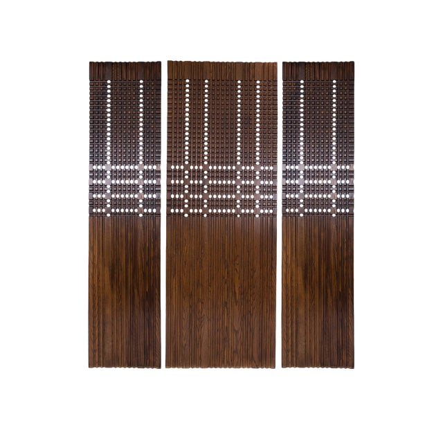 Walnut Architectural Panels For Sale