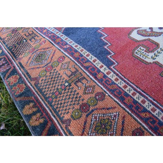 Textile Vintage Red Turkish Taspinar Rug 4'3'' X 7'10'' For Sale - Image 7 of 12