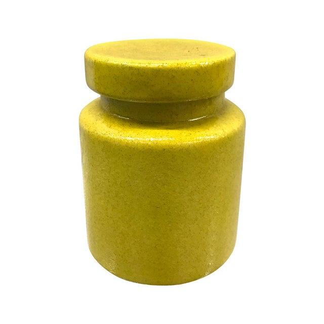 Ceramic Mid-Century Italian Bitossi Lidded Jar For Sale - Image 7 of 8