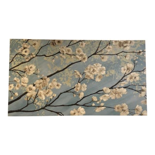 """Large Modern """"Cherry Blossom"""" Painting on Canvas by James Wiens For Sale"""