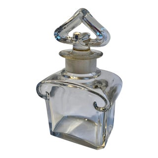20th Century Baccarat Perfume Bottle For Sale