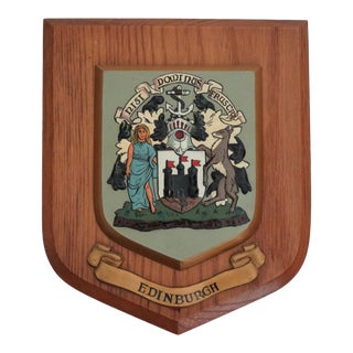 Edinburgh, Scotland United Kingdom Wall Plaque For Sale