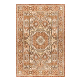"Fairview Phillip Spice Traditional Area Rug - 7'10"" x 10'3"" For Sale"