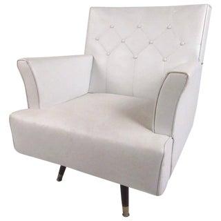 Mid-Century Swivel Rocker Lounge Chair For Sale