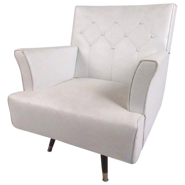 Awesome Mid Century Swivel Rocker Lounge Chair Machost Co Dining Chair Design Ideas Machostcouk