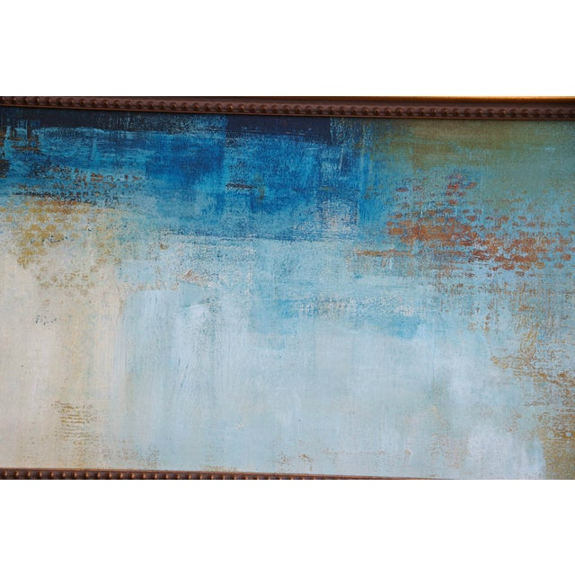Mid-Century Abstract Oil Painting - Image 6 of 7