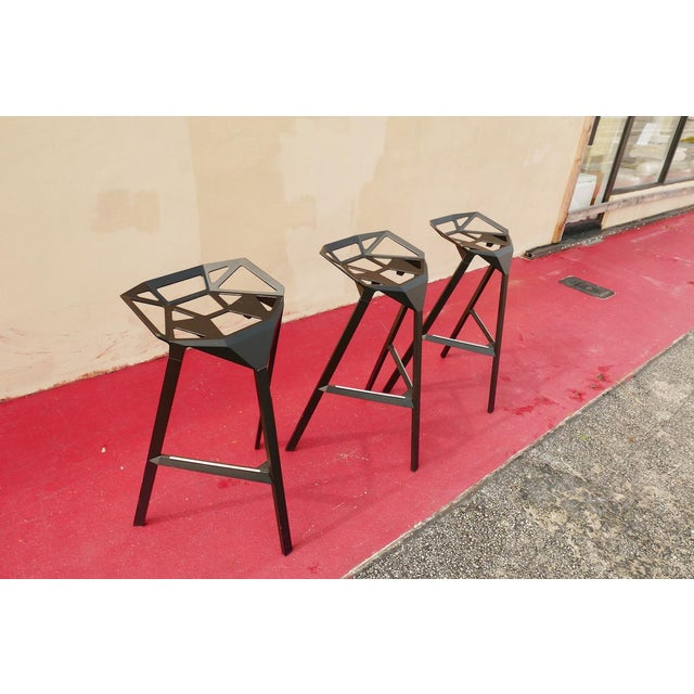 These Italian fabulous, light weight, and stackable bar stools are also very comfortable. They can be used indoor or...