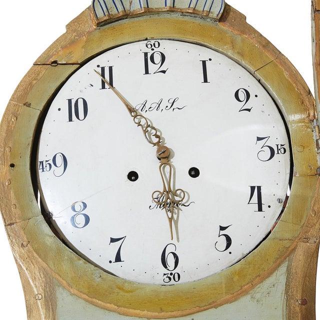 Antique Swedish Gustavian Mora Clock For Sale In Greensboro - Image 6 of 7
