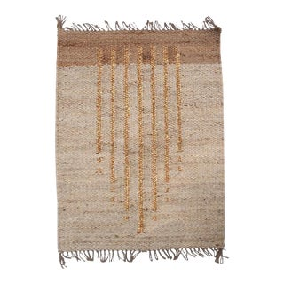 Lola Gold Lines Rug For Sale