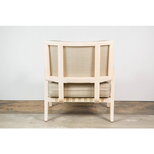 Not Yet Made - Made To Order Paul Marra Low Lounge Chair in Bleached Maple For Sale - Image 5 of 9