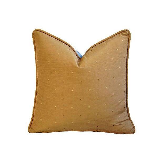 Designer Iman Lamu Twilight Aegean Pillows - Pair - Image 6 of 7