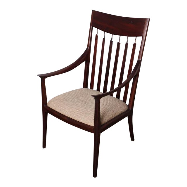 Walnut Craft Armchair by John Nyquist - Image 1 of 10