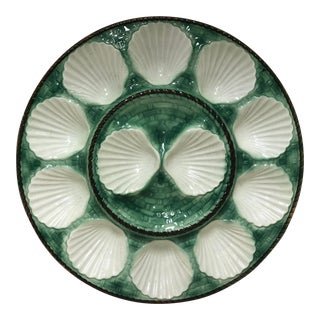Vintage Oyster Clam Plate For Sale