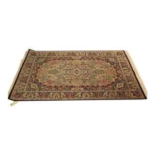 "Bloomingdales Handmade Oriental Rug - 4′6″ × 7′5"" For Sale"