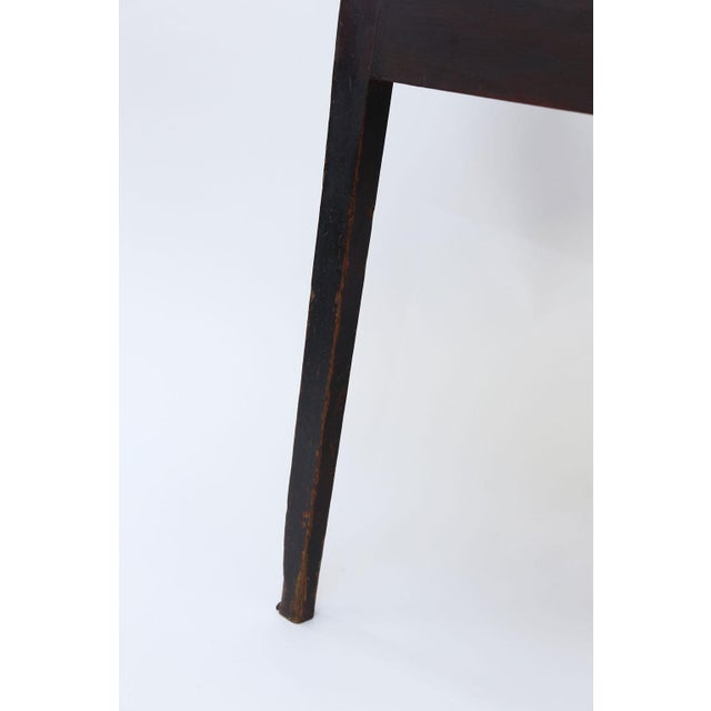 Brown Large Pine Cricket Table For Sale - Image 8 of 13