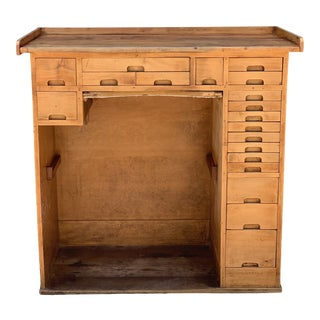 Rustic Style Jewelers' Workbench For Sale
