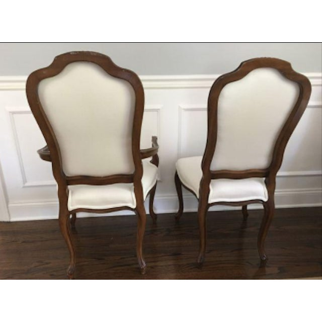 French Style Dining Room Chairs Set of 8 - Image 2 of 3