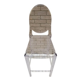 Victoria Ghost Smoke Chair by Philippe Starck for Kartell For Sale