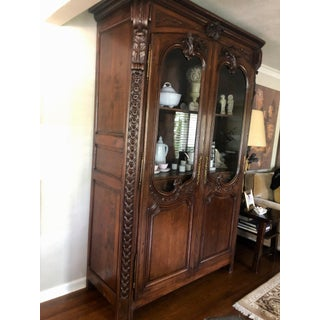 18th Century Antique French Oak Armoire Preview