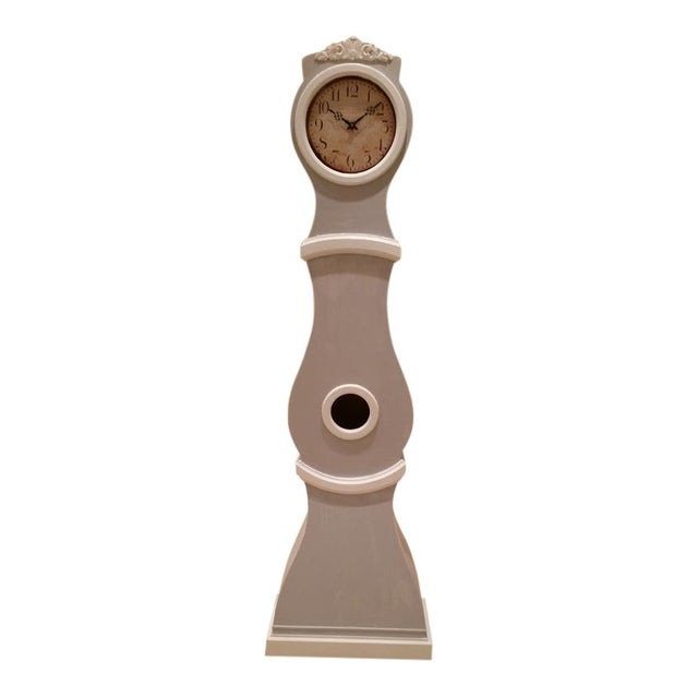Paint Reproduction Swedish Mora Clock For Sale - Image 7 of 9