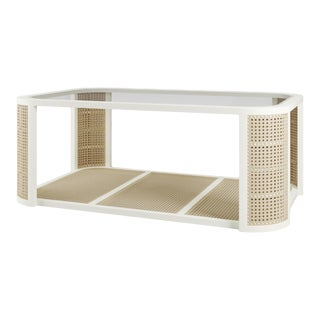 Lola Coffee Table - Simply White For Sale