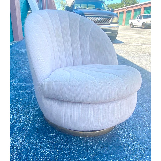 Mid 20th Century Midcentury Milo Baughman Swivel Chair For Sale - Image 5 of 10
