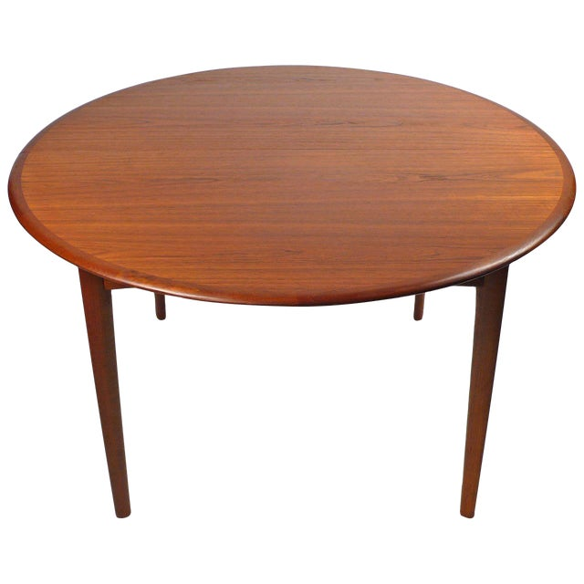 Svend Madsen Danish Modern Extension Dining Table For Sale