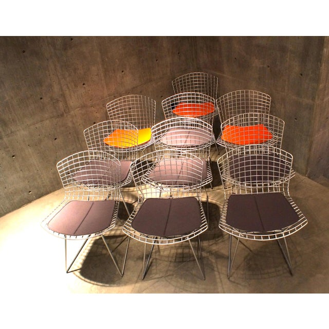 Knoll Bertoia Side Chairs - Set of 10 For Sale - Image 10 of 10