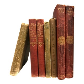 Vintage Collectors Small Books - Set of 7 For Sale
