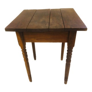 19th Century Primitive Wash Stand For Sale