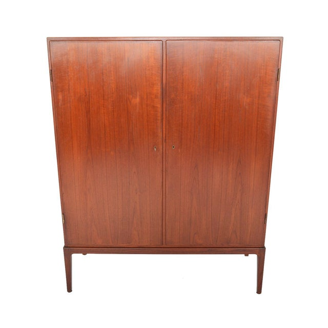 Tall Danish Modern Teak Bureau - Image 1 of 10