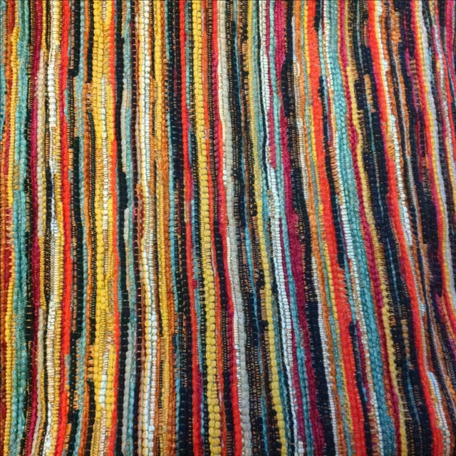Multicolor Stripe Fabric by Jonathan Louis - 14 Yds - Image 2 of 3