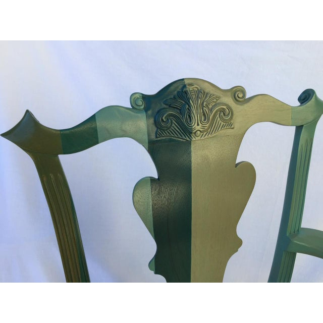 Chippendale Style Chair by Jamie Drake - Image 3 of 6