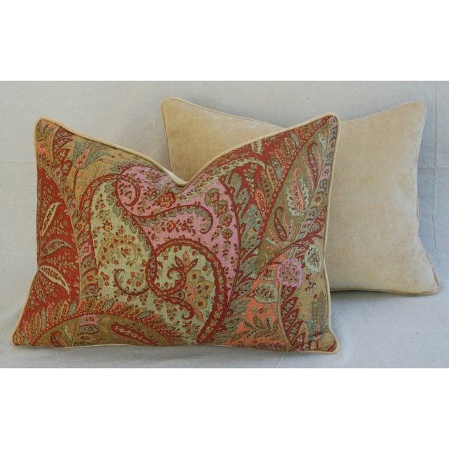 Designer Brunschwig & Fils Paisley Pillows - Pair - Image 7 of 9
