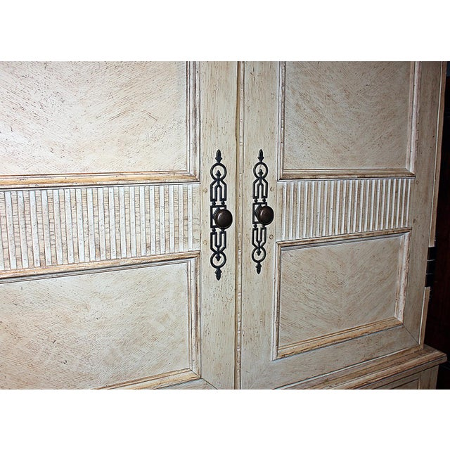 Baker Linen Press Armoire - Image 9 of 12