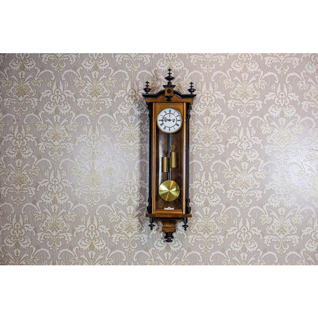 19th-Century Regulator Wall Clock For Sale - Image 11 of 11
