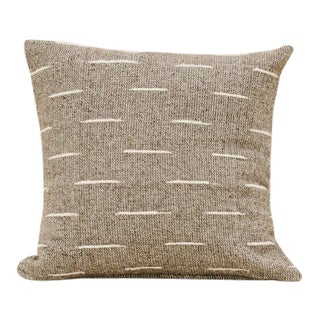 Grey Flecha Pillow Cover For Sale
