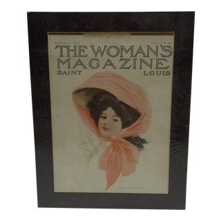 Vintage 'The Woman's Magazine' Cover Page