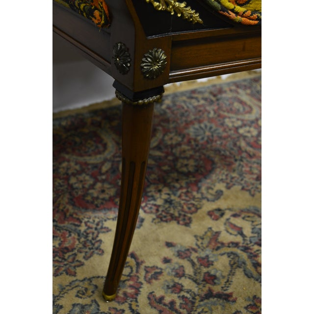 French Regency Rosewood Dining Chairs - Set of 6 For Sale - Image 4 of 6
