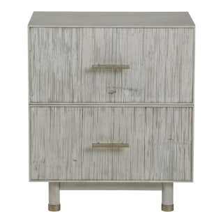 Century Furniture Biscayne 2 Drawer Nightstand, Peninsula Finish For Sale