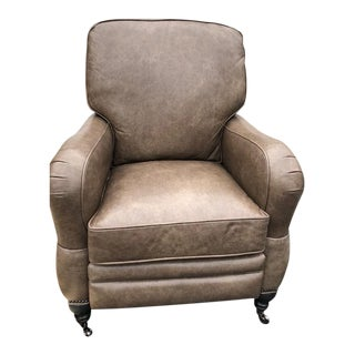 Arhaus Leather Recliner Chair