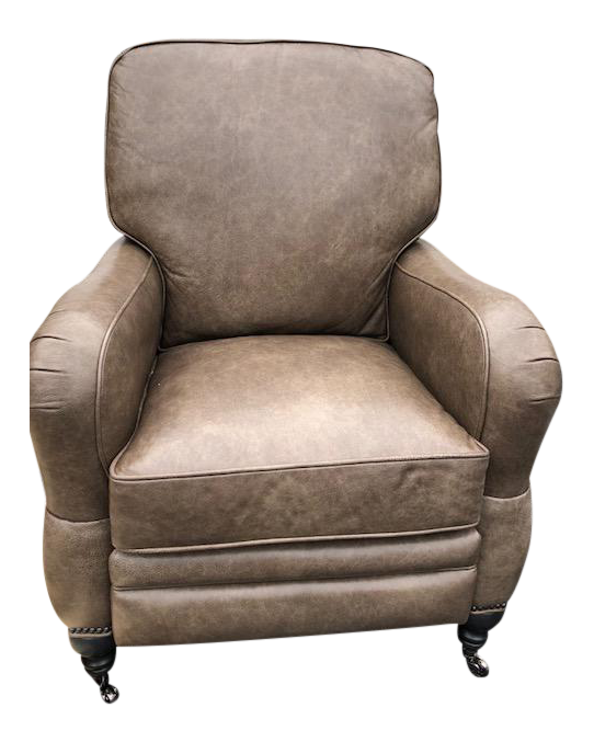 Charming Arhaus Leather Recliner Chair
