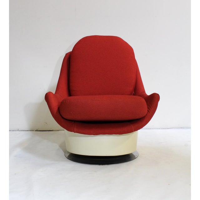 Milo Baughman Swivel Lounge Chair - Image 8 of 8