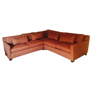 Huntington House Red Sectional Sofa For Sale