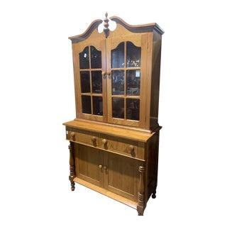 1991 Lovett Jackson Handmade Cherry Cabinet For Sale