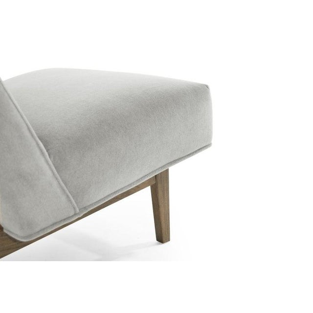 Classic Slipper Chairs by Jens Risom, Circa 1950s - a Pair For Sale - Image 10 of 13