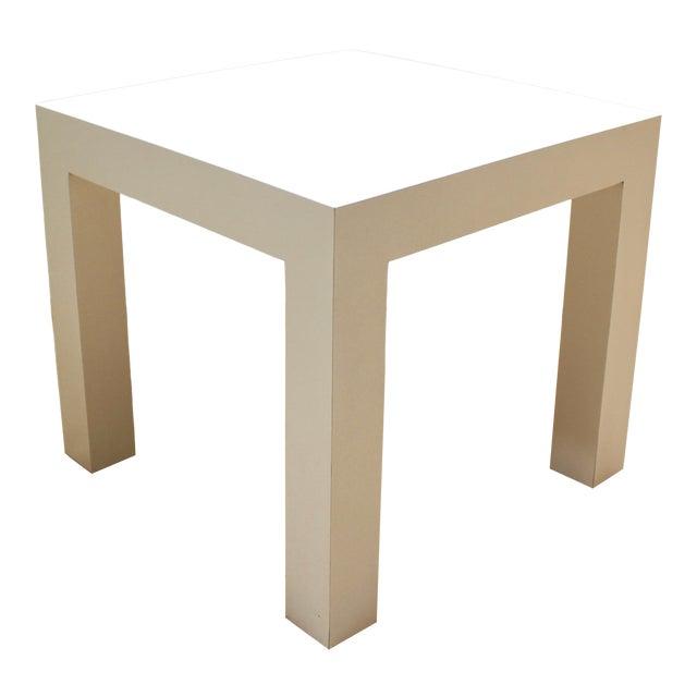 1973 Milo Baughman Parsons-Style Side Table For Sale