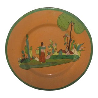 Vintage Mexican Tlaquepaque Charger For Sale