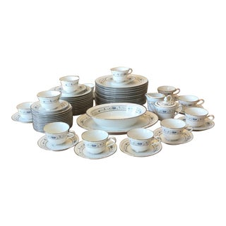 Noritake China Norma Dinnerware - 64 Pieces For Sale